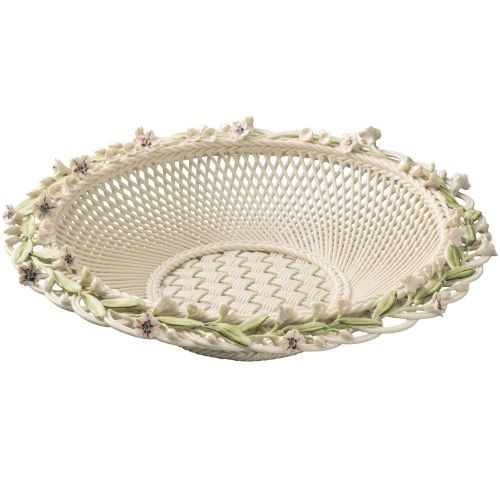 Belleek China Laurel Basket